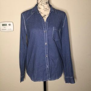 DKNY Jeans Button Down Top